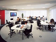 オフィス計画と連動する床のデザイン1