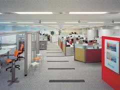 オフィス計画と連動する床のデザイン2